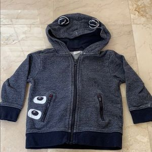 Gymboree zip-up hoodie